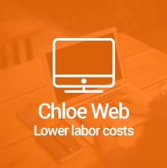 chloe web button